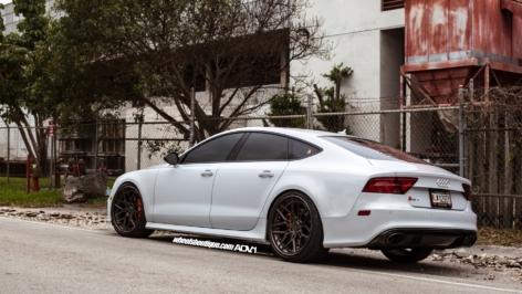 Audi RS7 on ADV7 TS CS