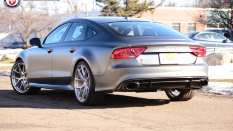 Audi RS7 on HRE P101