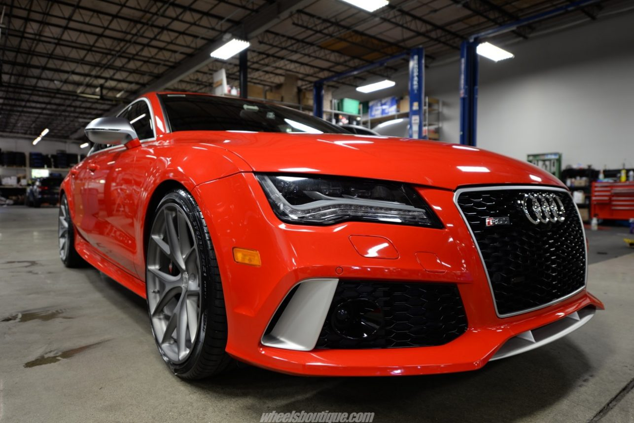 Audi Rs7 On Hre P101 Misano Red Pearl Gallery Wheels Boutique