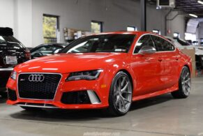 Audi RS7 on HRE P101 – Misano Red Pearl