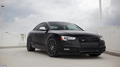 Audi S5 on HRE Classic 300M
