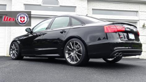 Audi S6 on HRE P43SC