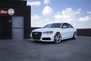 Audi S6 on HRE P47SC