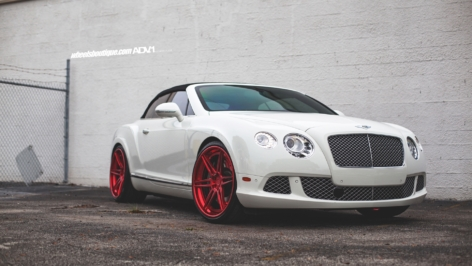 Bentley Continental GT on ADV06 Track Spec CS