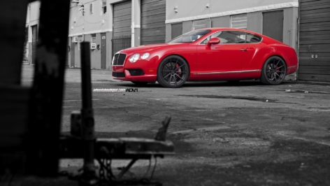 Bentley Continental GT on ADV10 MV2 SL
