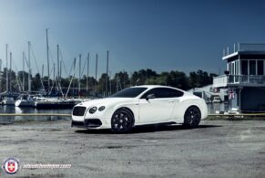 Bentley Continental GT on HRE TR107