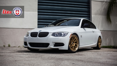 BMW 335is on HRE RS100