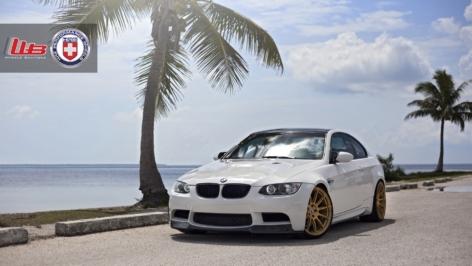 BMW E90 M3 on HRE P43SC