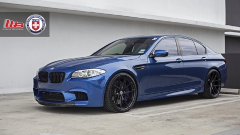 BMW F10 M5 on HRE P101