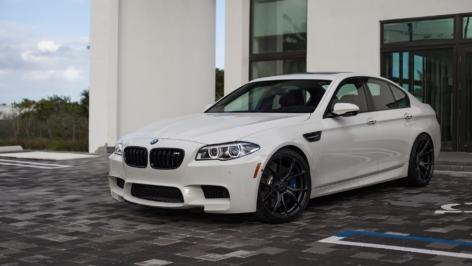 BMW F10 M5 on Vorsteiner V-FF 103