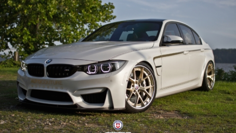 BMW F80 M3 on HRE S101