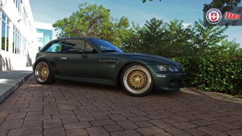 BMW M Coupe on HRE Vintage 501