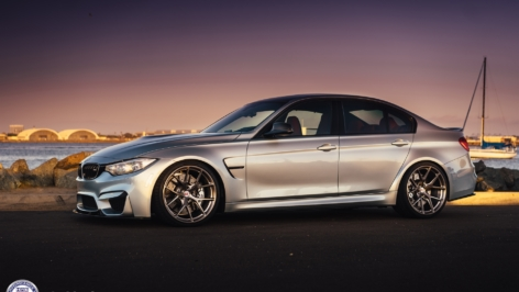 BMW M3 (F80) on HRE P101