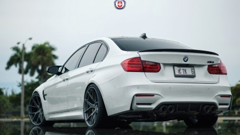 BMW M3 (F80) on HRE P101 – TK