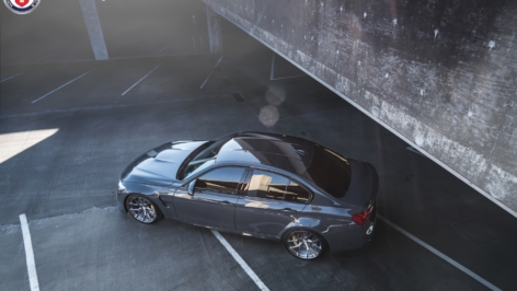 BMW F80 M3 on HRE P101