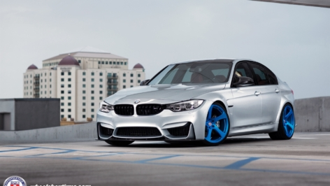 BMW F80 M3 on HRE RS102M