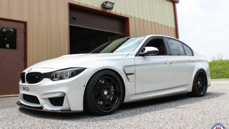 BMW M3 on HRE 301