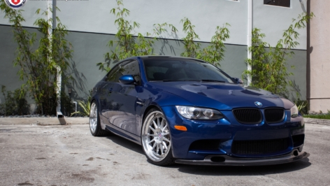 BMW E92 M3 on HRE Classic Series 303