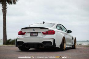 BMW M4 GTRS4 Vorsteiner Widebody on ADV7 Track Spec CS