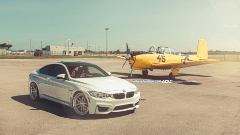 BMW M4 on ADV005 TS CS