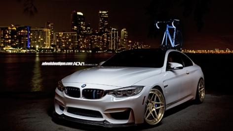 BMW M4 on ADV05|S Track Spec CS