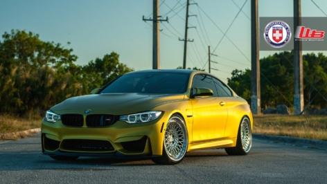 BMW M4 on HRE 501C