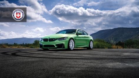 BMW M4 on HRE RC103