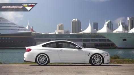 BMW M4 on Vorsteiner V-FF 102