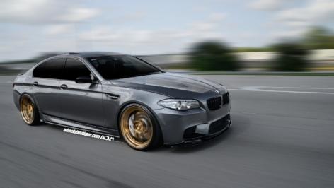 BMW M5 F10 on ADV5.2 MV2 CS