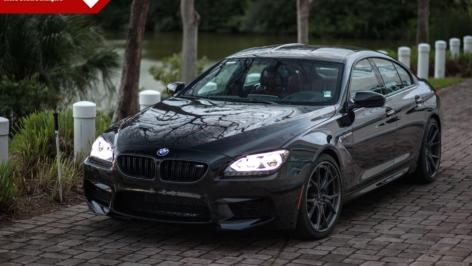 BMW M6 Gran Coupe on Vorsteiner VTM-352