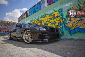 BMW M6 on HRE P101 with Vorsteiner Carbon Kit