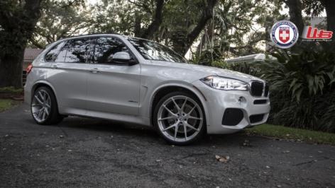 BMW X5 on HRE P101
