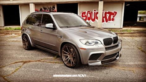 BMW X5M on ADV5.2 MV2 SL