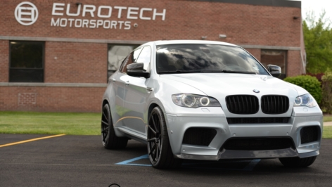 BMW X6M on ADV10 MV2 SL