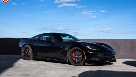 Chevy Corvette C7 on HRE P101