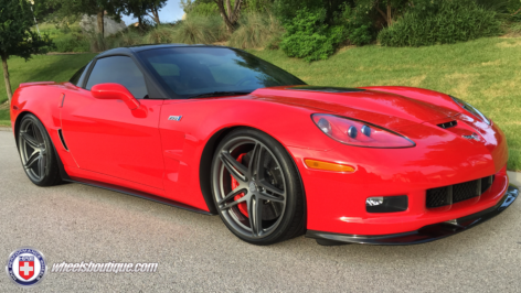 Chevy C6 ZR1 on HRE P107