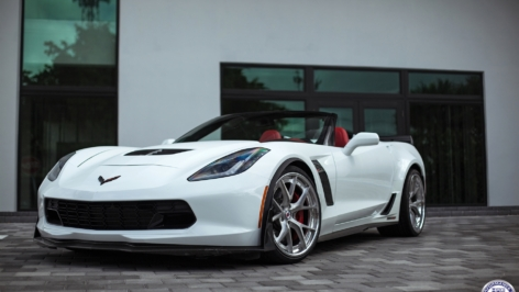 Chevy Corvette C7 Z06 on HRE S101