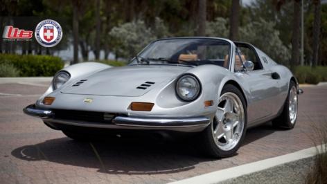 Dino GT Ferrari on HRE Vintage Series 505