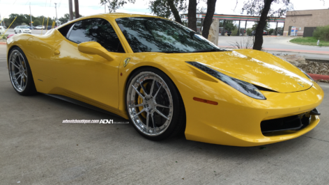 Ferrari 458 on ADV5.2 Track Spec CS
