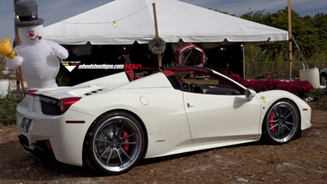 Ferrari 458 Spyder on ADV5.2 TS SL