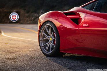 Ferrari 488 GTB on HRE P101