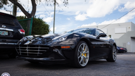 Ferrari California T on HRE P101