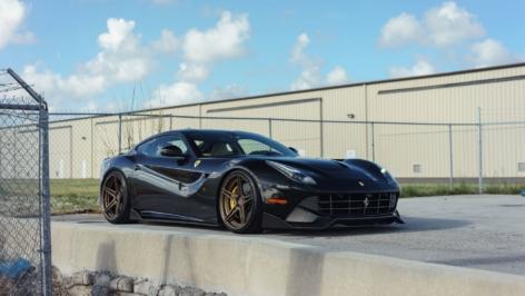 Ferrari F12 on ADV05 MV2 SL