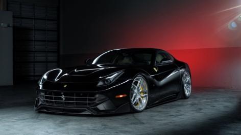 Ferrari F12 on ADV05S Track Spec CS