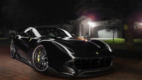 Ferrari F12 on ADV5.0 Track Spec CS