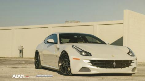 Ferrari FF on ADV05 S Track Spec CS