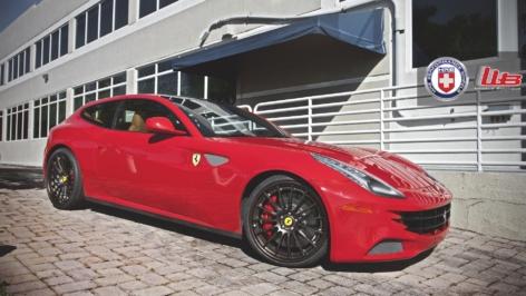 Ferrari FF on HRE RS103
