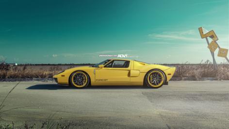 Ford GT on ADV005 Track Spec CS