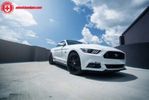 Ford Mustang GT on HRE FlowForm FF01