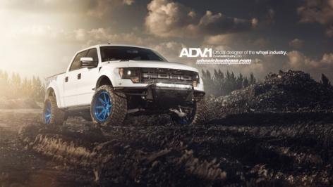Ford Raptor on ADV08 TruckSpec